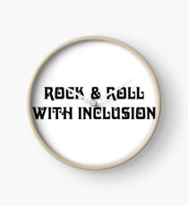The Diversity of Classic Rock: Rock & Roll With Inclusion Clock