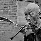 Old  Chinese  man  , CHINA by yoshiaki nagashima