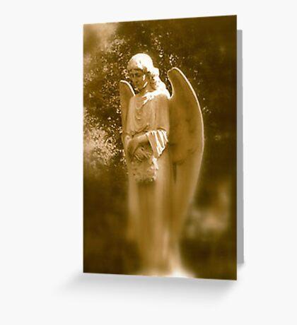 Memories of an Angel Greeting Card