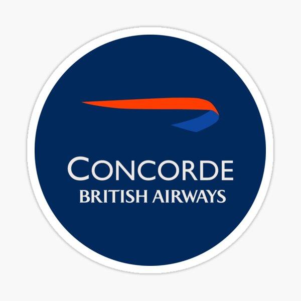 British Airways Concorde Logo Sticker