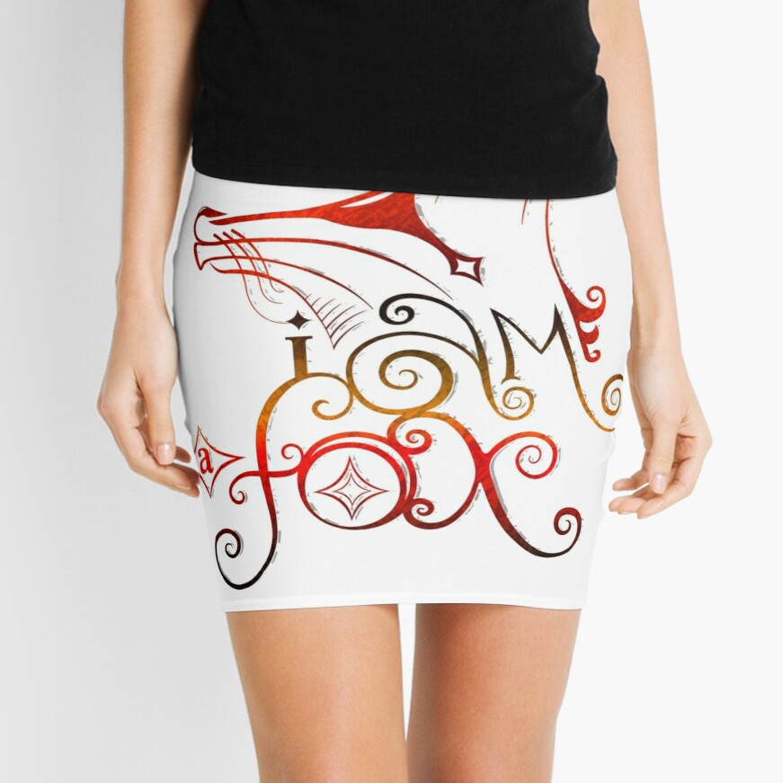 I am a Fox Mini Skirt