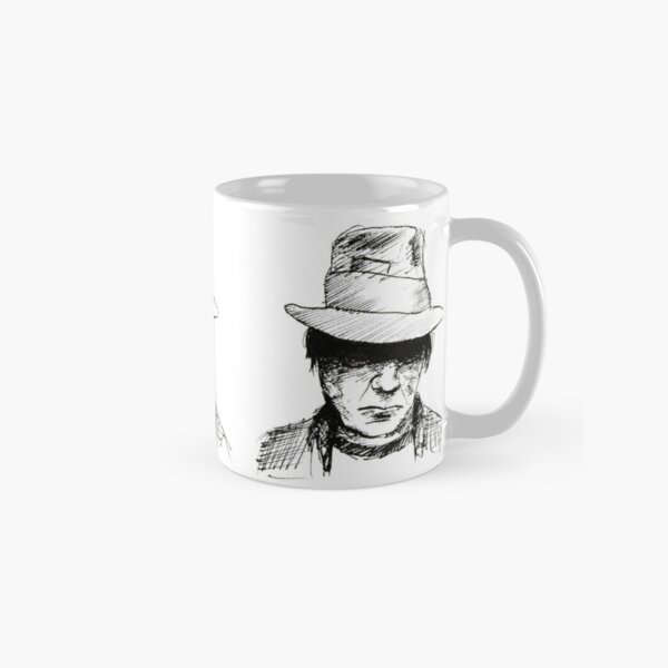 Neil Young Fineliner Classic Mug