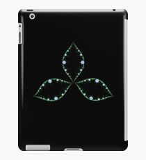 Shamrock with a touch of pink iPad Case/Skin