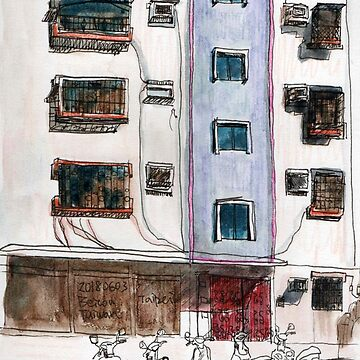 Sketch Urban, Beitou,Taiwan by fhjr2002