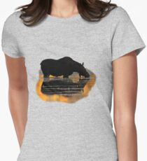 Reflections of Fall Women's Fitted T-Shirt