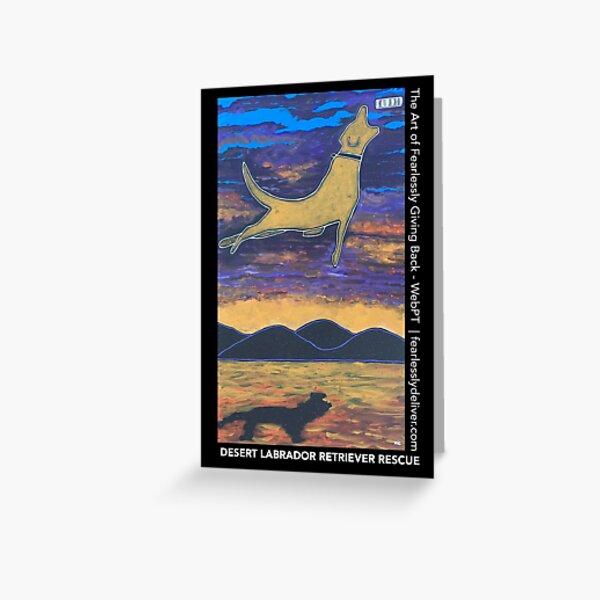 Dive Far & High Greeting Card