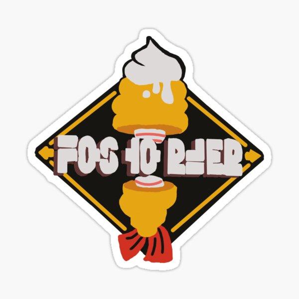 Logo de Sean Crusty Sticker