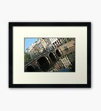Archs on the bridge Framed Print