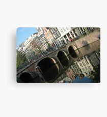 Archs on the bridge Canvas Print