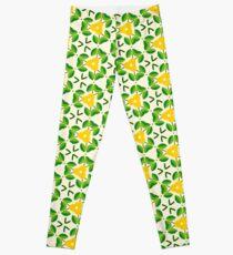 love flat design romantic seamless colorful repeat pattern Leggings