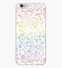 Vinilo o funda para iPhone Patrón de tablero de RPG - Rainbow