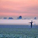 A foggy sunrise by Adri  Padmos