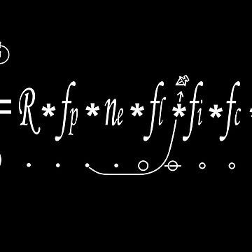 Drake Equation- How Many Intelligent civilizations in the Milky Way? by Ice-Tees