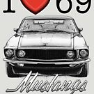 I love 69 Mustang by CoolCarVideos