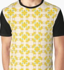 pattern romance friendship seamless colorful repeat Graphic T-Shirt