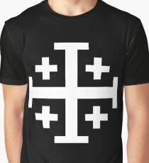 Jerusalem cross, Five Fold Cross Graphic T-Shirt
