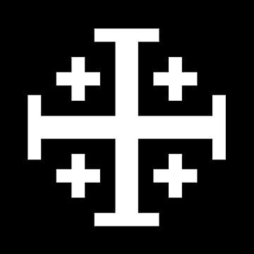 Jerusalem cross, Five Fold Cross by Ice-Tees