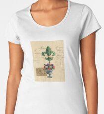 Fleur de Lis Women's Premium T-Shirt