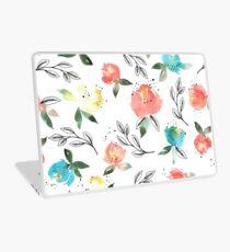 Watercolor flowers #1 Laptop Skin