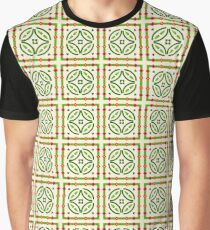 romantic romance flowers seamless colorful repeat pattern Graphic T-Shirt