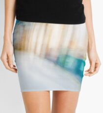 Ghostly colorful Architectures Mini Skirt
