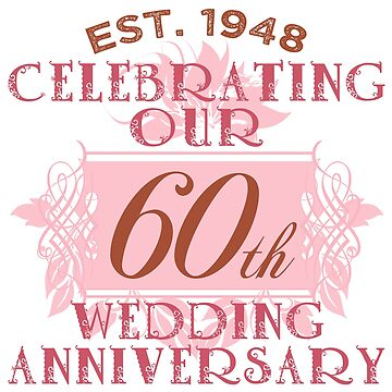 Cute 60th Anniversary by thepixelgarden