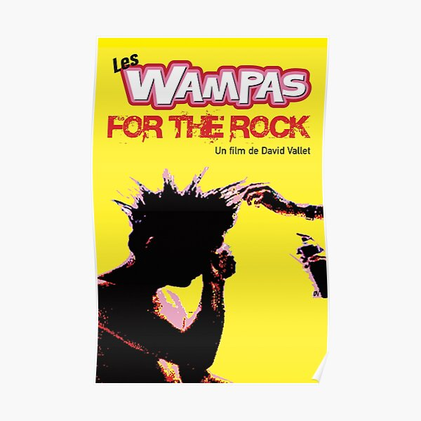 Affiche LES WAMPAS FOR THE ROCK Poster