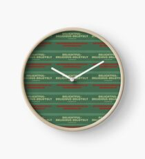 Delightful Delicious Delovely Clock