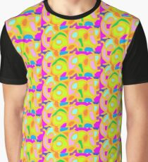 Stained Glass Print Graphic T-Shirt