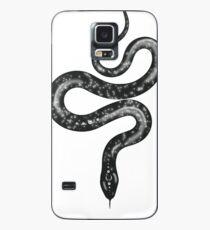 Black kingsnake Stars Case/Skin for Samsung Galaxy