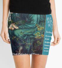 Pre Raphaelites Calendar Cover Mini Skirt