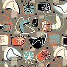 Retro Boomerangs Revamp Mod Brown by Holly Bender