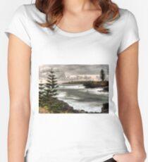 Kiama Coastline Fitted Scoop T-Shirt