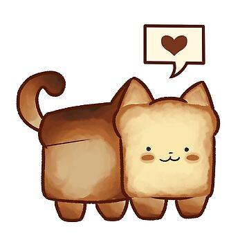 cat loaf by kawaideathmatch