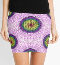 Sacred Mandala  Mini Skirt