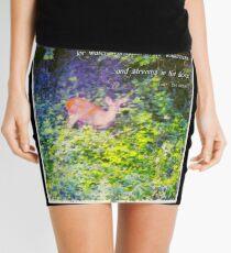 Isaiah 35 6 Mini Skirt