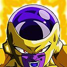 Golden Frieza by Junior Mclean