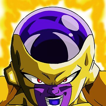 Golden Frieza by FractalKing
