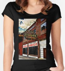Bossier City Meets Lebanon, Missouri Fitted Scoop T-Shirt