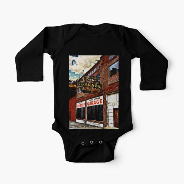 Bossier City Meets Lebanon, Missouri Long Sleeve Baby One-Piece