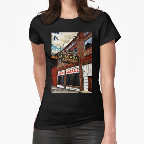 Bossier City Meets Lebanon, Missouri Fitted T-Shirt
