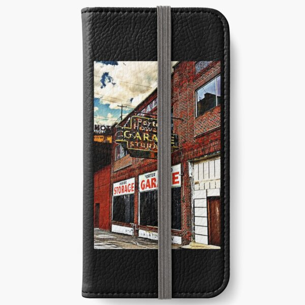 Bossier City Meets Lebanon, Missouri iPhone Wallet