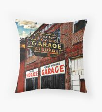 Bossier City Meets Lebanon, Missouri Throw Pillow