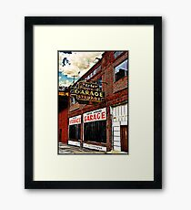 Bossier City Meets Lebanon, Missouri Framed Art Print