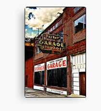 Bossier City Meets Lebanon, Missouri Canvas Print
