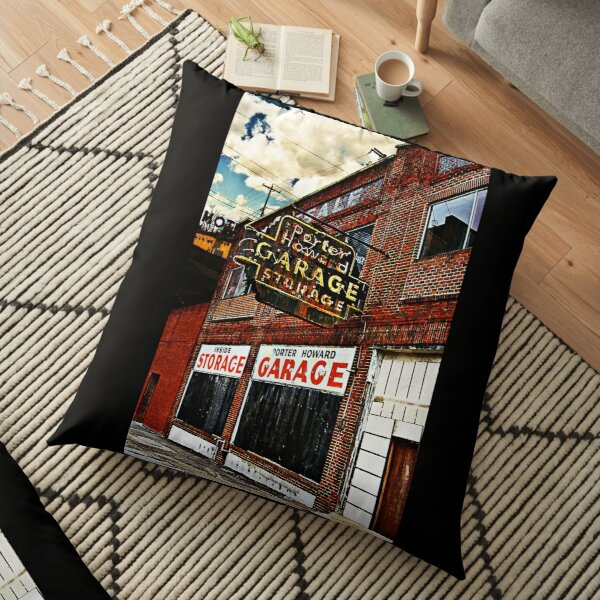 Bossier City Meets Lebanon, Missouri Floor Pillow