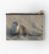 Sandbank with otter Studio Pouch