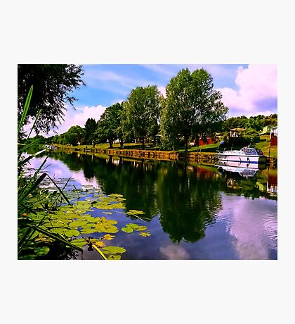 River Perspective Photographic Print