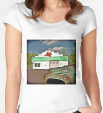 Fill'r Up Women's Fitted Scoop T-Shirt
