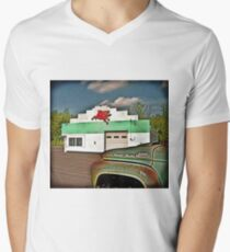 Fill'r Up Men's V-Neck T-Shirt